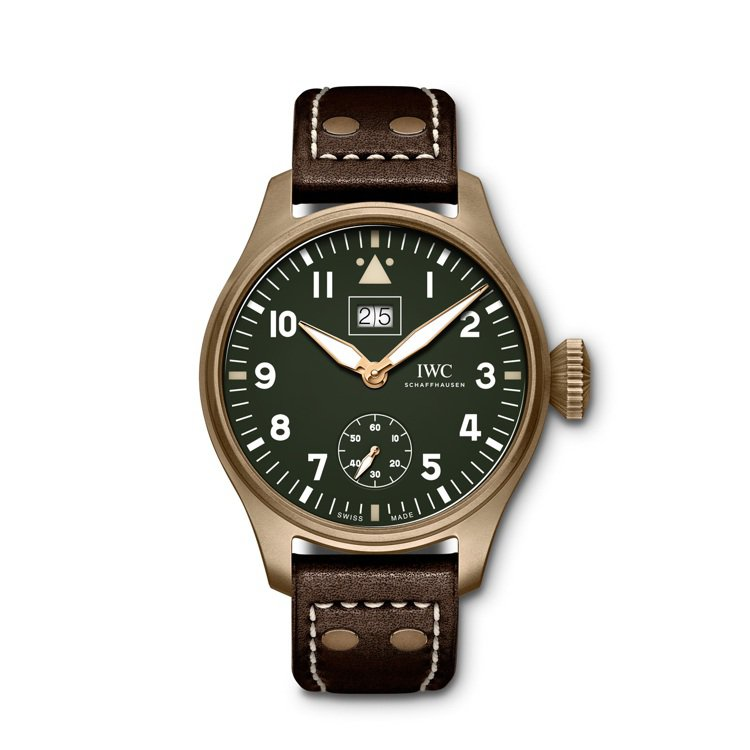 IWC,噴火戰機大型飛行員大日期腕表「任務完成」特別版(IW510506),青銅...