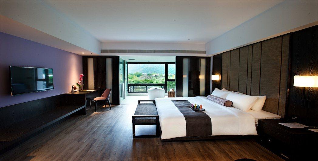 除了奢華的遊艇之旅,住宿則搭配在花蓮的千禧渡假五星酒店。 圖/太一國際旅行社提供