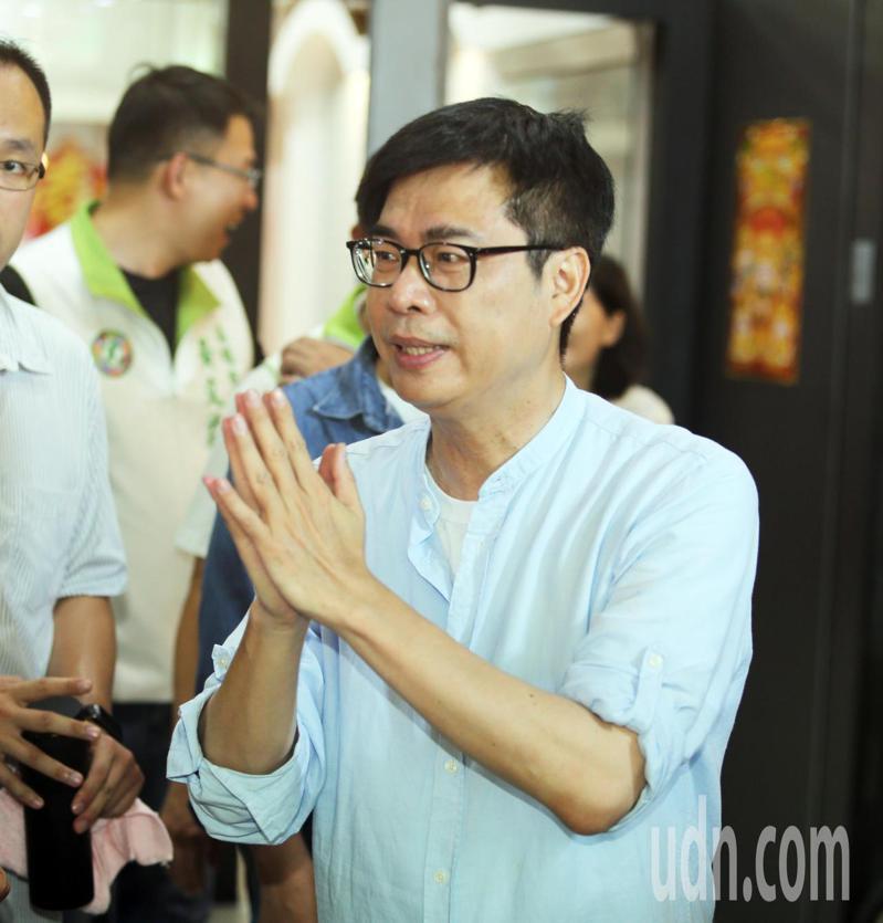 民進黨高雄市長參選人陳其邁。報系資料照/記者劉學聖攝影