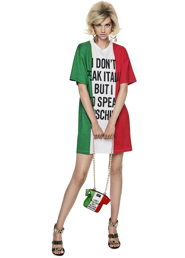 人在洛杉磯的Jeremy Scott也特別選擇義大利國旗作為設計重點之一,更結合...