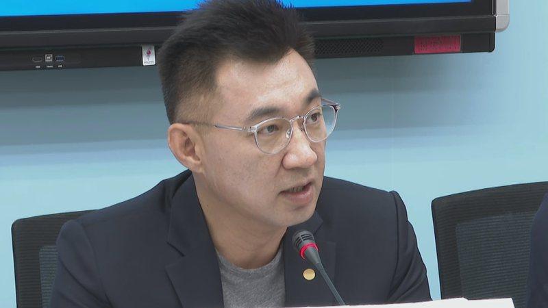 國民黨主席江啟臣。記者莊昭文/攝影