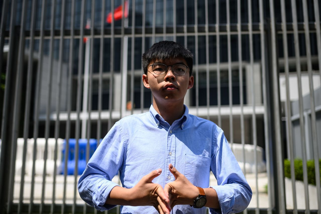國安法一通過 香港眾志宣布即日起解散