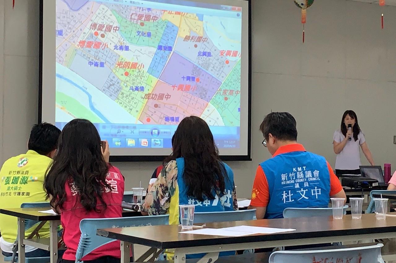 竹北學區劃分草案明公告 數校恐仍爆滿