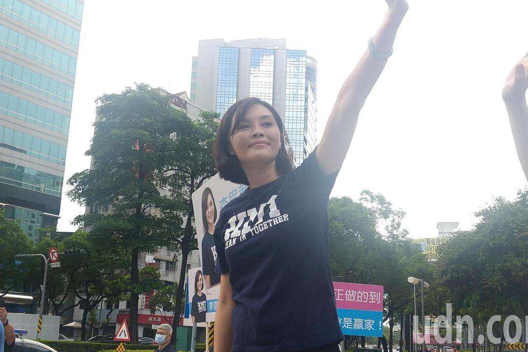 臉書號召青年加入團隊 李眉蓁:這次換我們做主