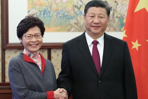 港版國安法通過 港特首林鄭:香港可以重新出發