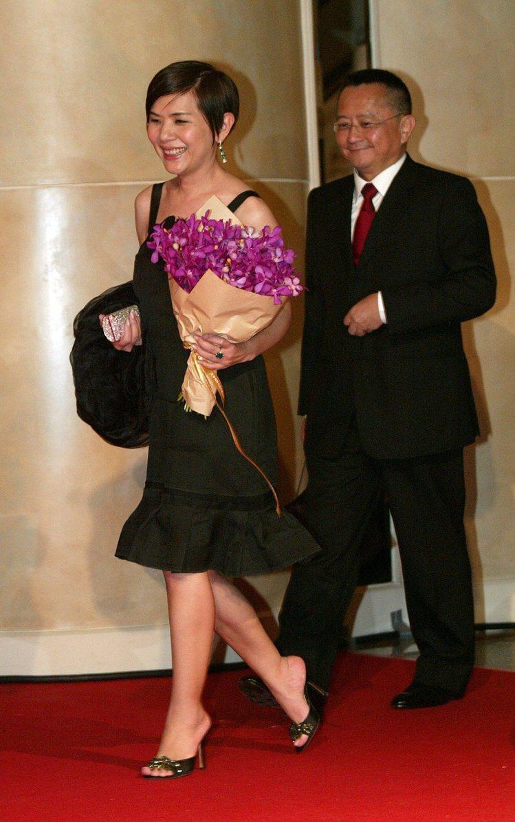 宋學仁(右)、張清芳的15年婚姻畫下句點。圖/報系資料照