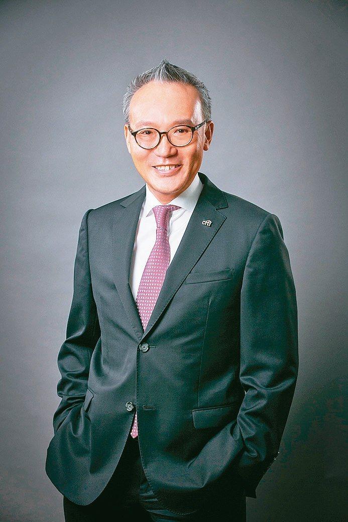 花旗(台灣)銀行董事長莫兆鴻。資誠/提供