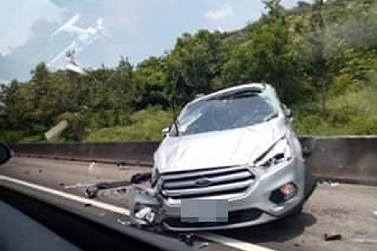 影/「太可怕了!」國道5車連環撞驚悚畫面曝光
