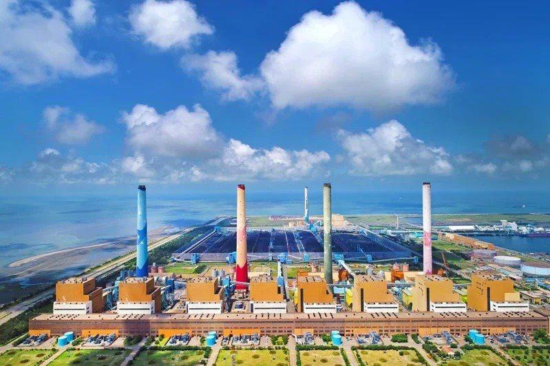 台中火力發電廠。本報資料照片