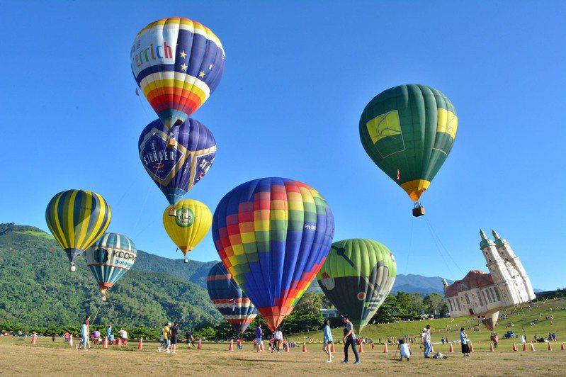 本次活動將有28顆國外造型球造訪台東。圖/台東縣政府提供