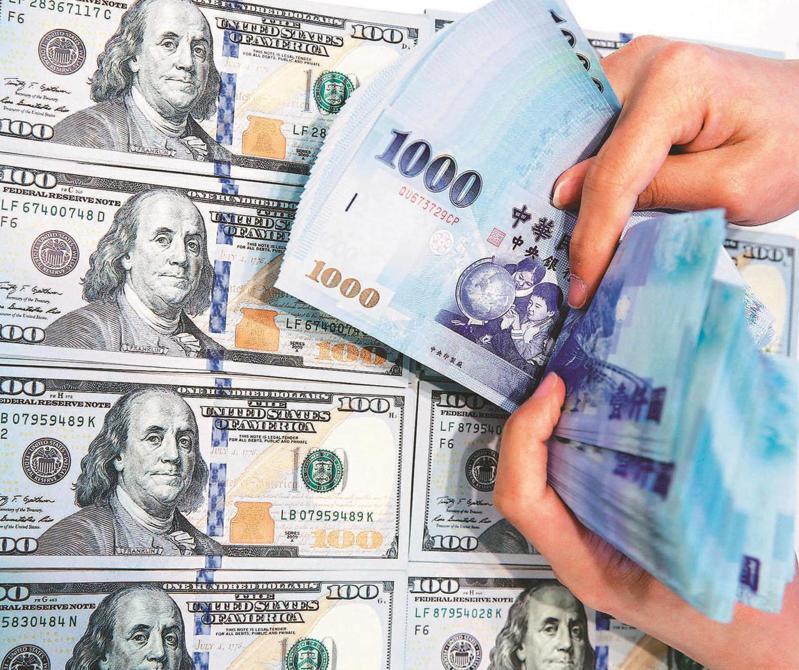 熱錢持續匯入,新台幣升勢擋不住。圖/聯合報系資料照片