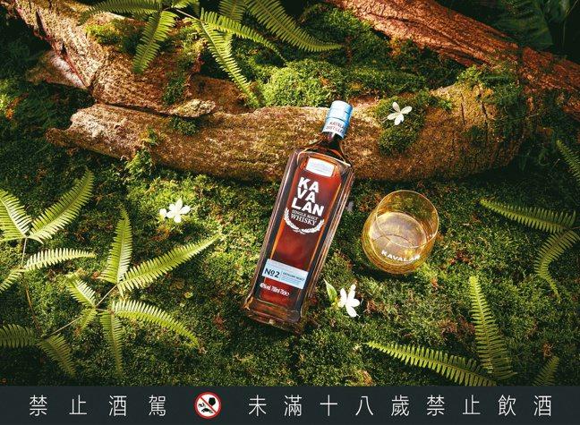「噶瑪蘭珍選單一麥芽威士忌No.2」富有迷人的花草氣息,建議售價1,000元。 ...