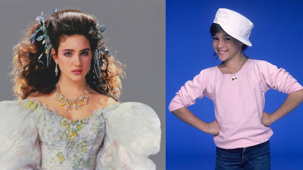 「妙管家」中的艾莉莎米蘭諾(右)與「魔王迷宮」裡的珍妮佛康納莉(左)。圖/摘自I