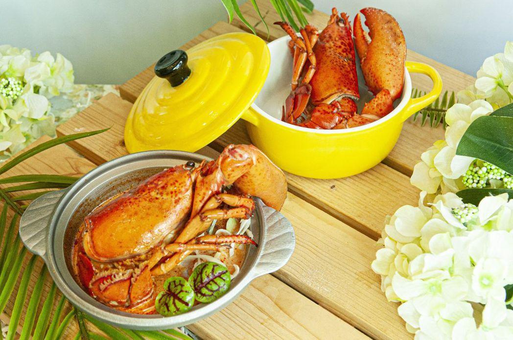歐式自助餐周五晚餐及周六、日午、晚餐,均有龍蝦吃到飽。  台南大飯店 提供