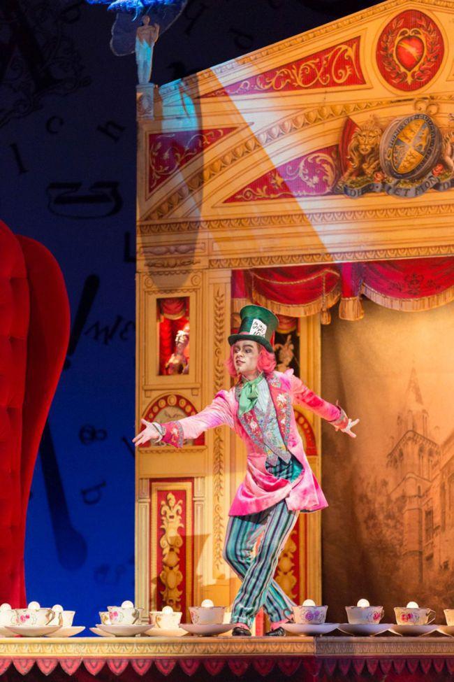 NTT放映室—英國皇家芭蕾舞團 《愛麗絲夢遊仙境》劇照。 圖/台中國家歌劇院提供