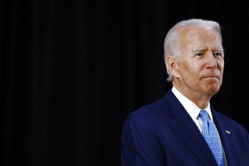 美國民主黨準總統候選人拜登表示疫情期間不會舉行造勢大會。 美聯社