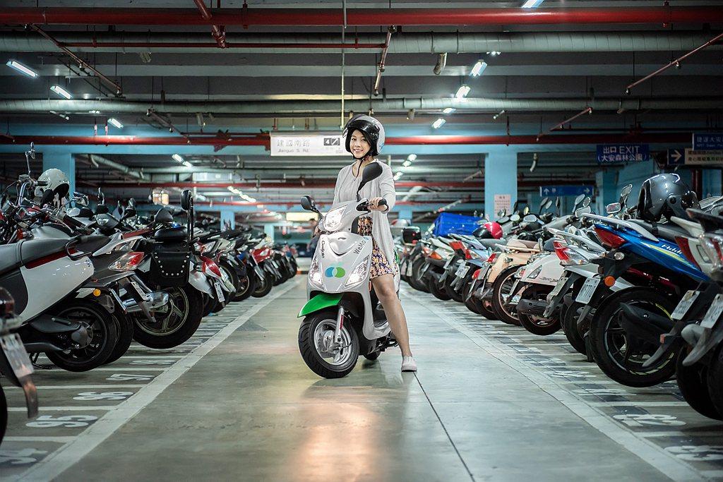 智慧共享電動機車服務WeMo Scooter,宣布攜手知名停車營運商包含台灣聯通...
