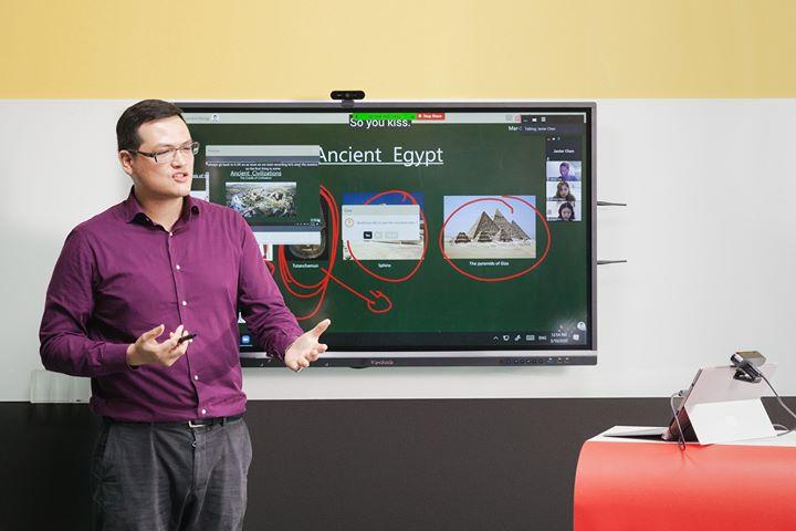 ViewSonic免費提供台大全校師生myViewBoard數位教育平台,升級安...