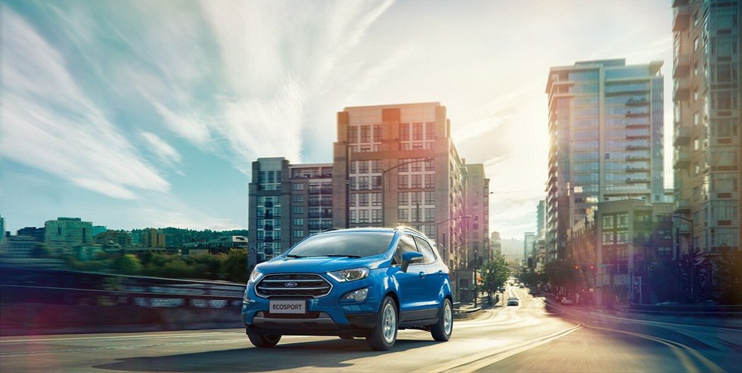 Ford EcoSport 20年式升級搭載BLIS視覺盲點偵測系統,增加配備、...