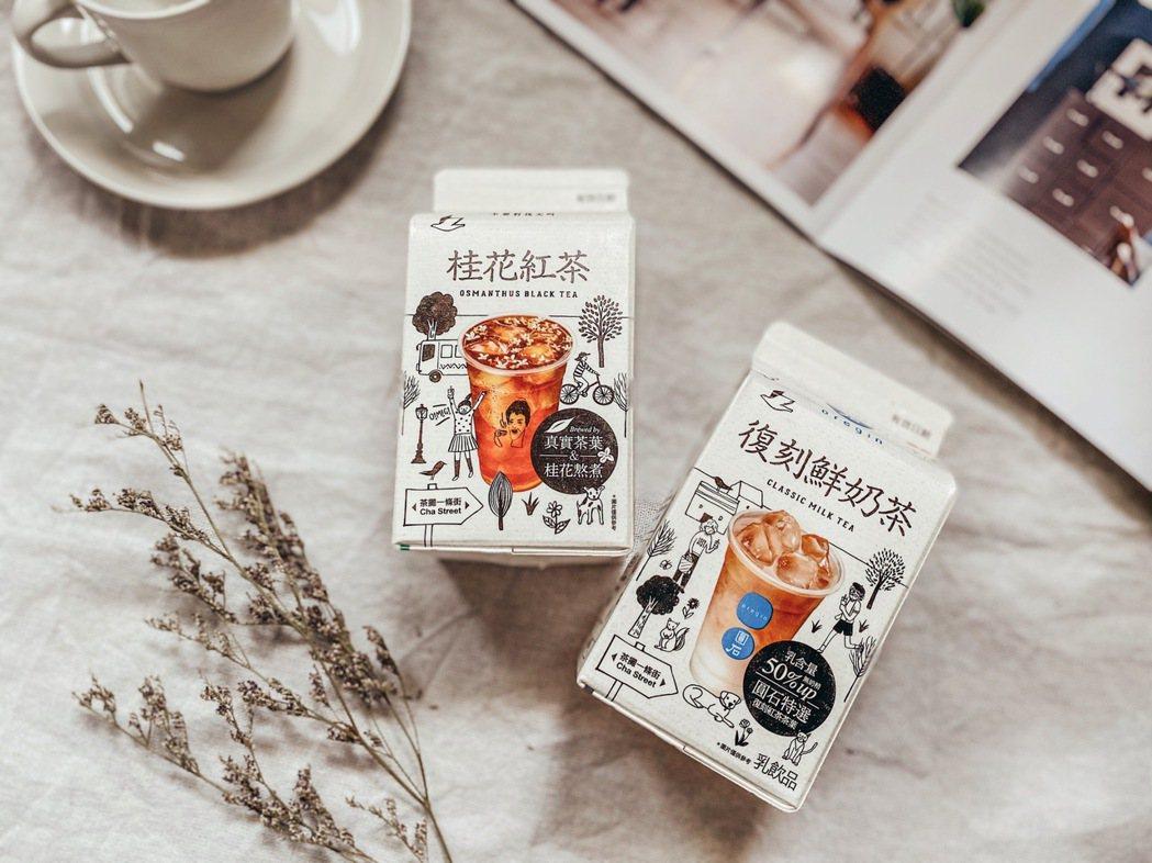 「店家學長」圓石,以其復刻系列聞名;加上奶茶是台灣消費者熱愛的商品,此次再度聯手...