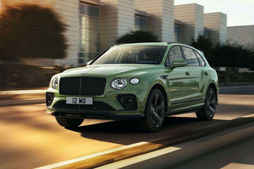 Bentley Bentayga五年後首次小改款。 摘自Bentley