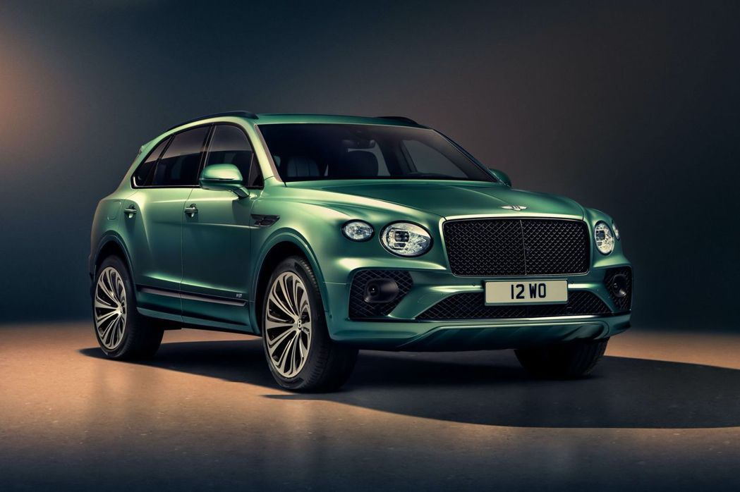 Bentley Bentayga。 摘自Bentley