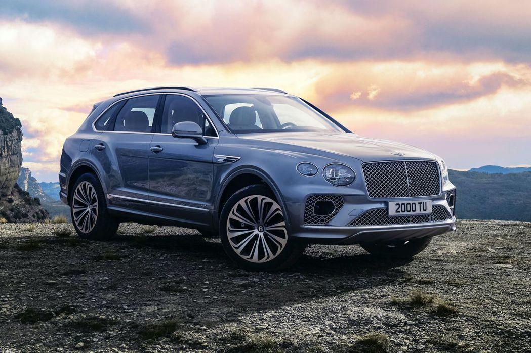 Bentley Bentayga小改款首波只先公布V8車型。 摘自Bentley