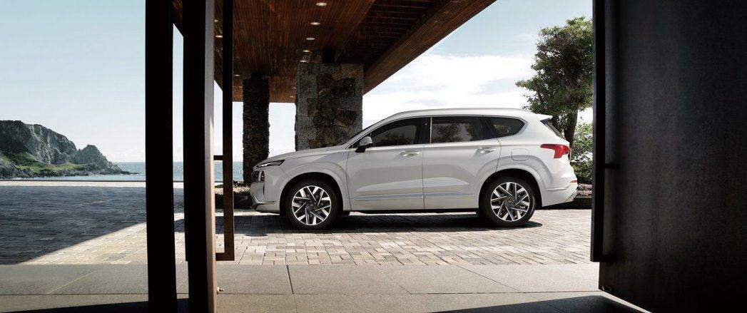 小改款Hyundai Santa Fe正式在韓國上市。 摘自Hyundai