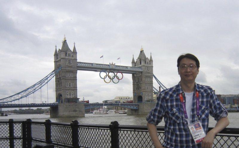 二○一二倫敦奧運,劉善群躬逢其盛。 圖/劉善群提供