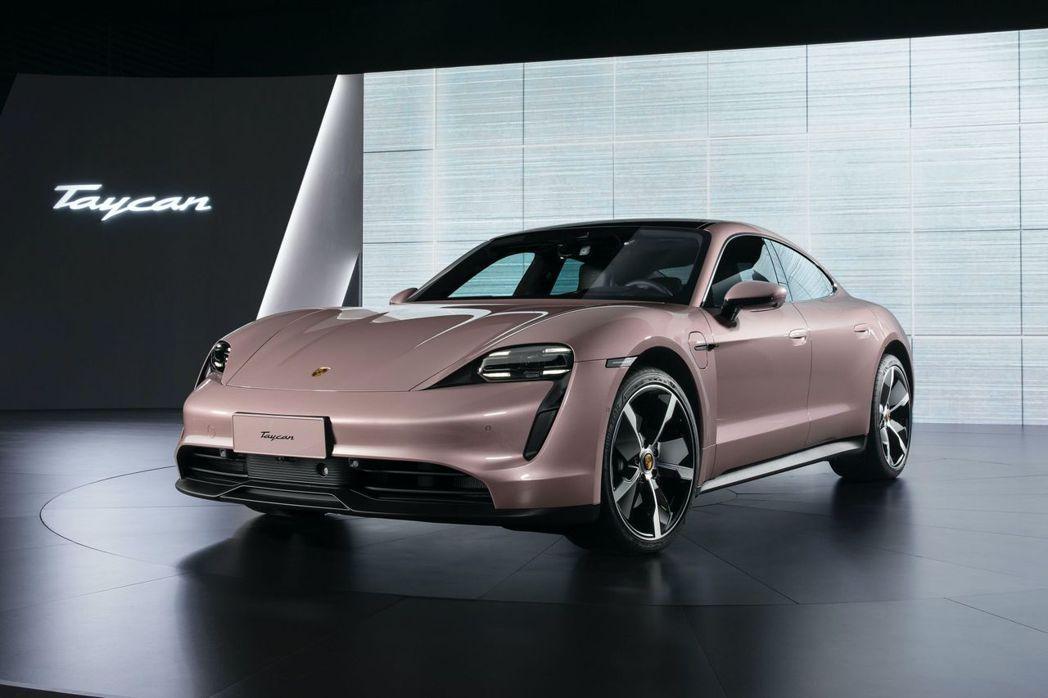 Porsche Taycan RWD。 摘自Porsche