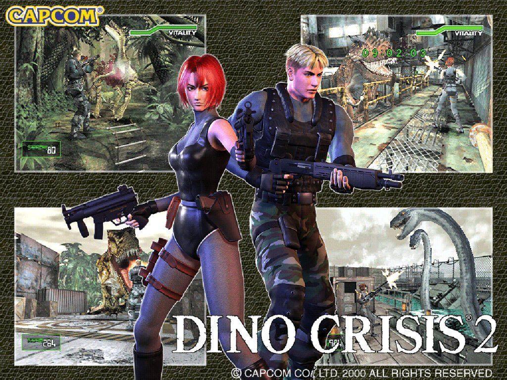 《恐龍危機2》兩位主角:蕾吉娜與迪蘭(Dylan),故事中會因為劇情需要,玩家必...
