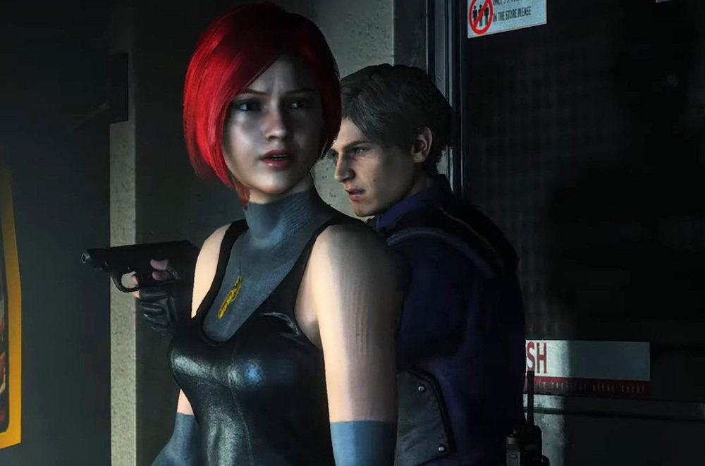 玩家將自己改造的 Mod套用在《惡靈古堡 2 重製版》上,克蕾兒瞬間變身成蕾吉娜...