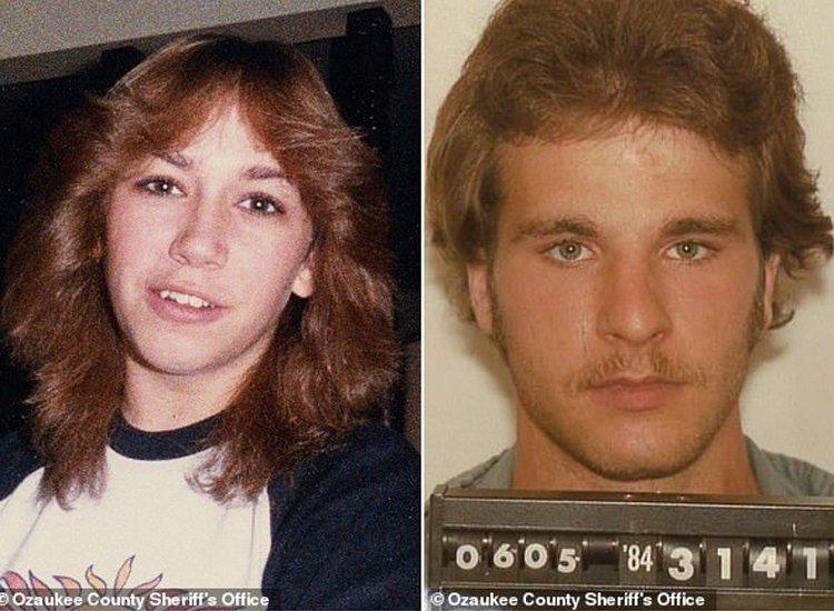 圖左為1984年慘遭殺害的18歲少女崔西、圖右為殺害崔西的表兄克羅斯。 圖/擷取自英國《每日郵報》