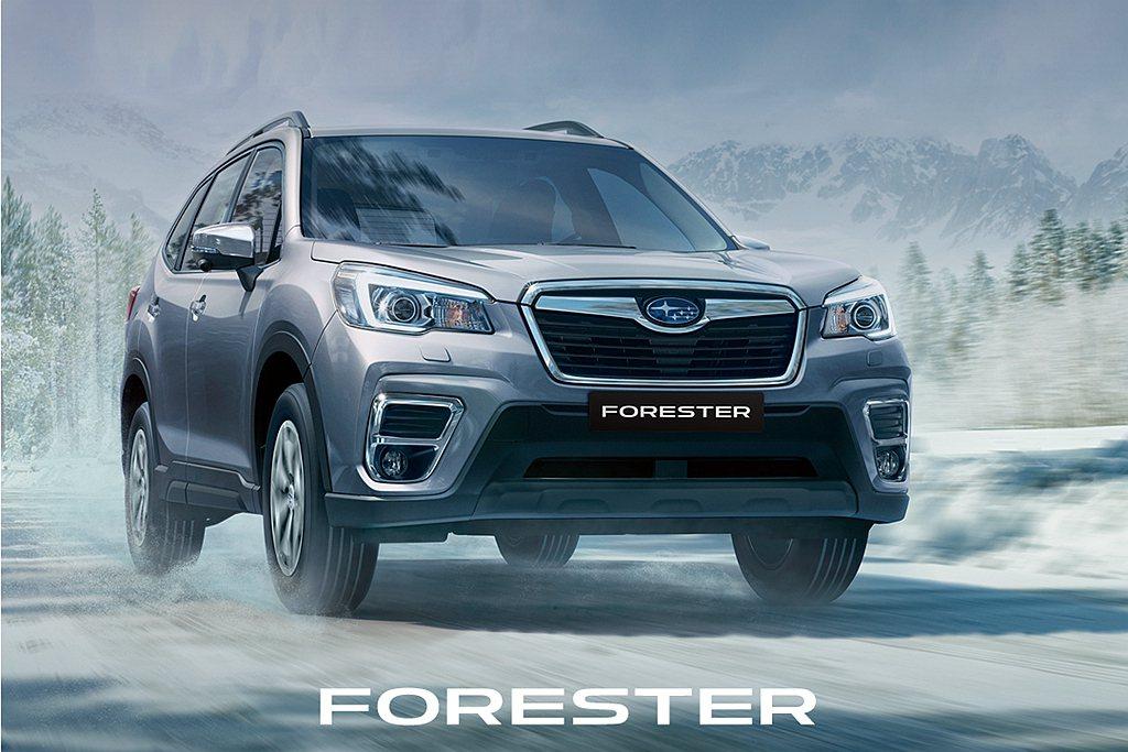Subaru Forester憑藉著所向披靡的安全表現,在世界知名權威認證機構I...