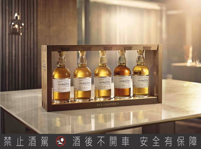 百富首席調酒師典藏系列第五章「調酒大師的特權」,全球限量50組,整組售價245萬...