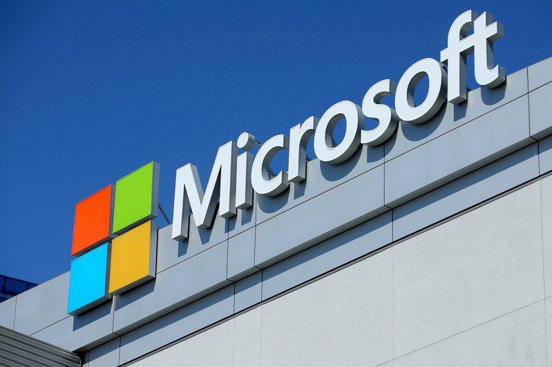 微軟(Microsoft)股價上半年繳出漂亮成績單。  路透