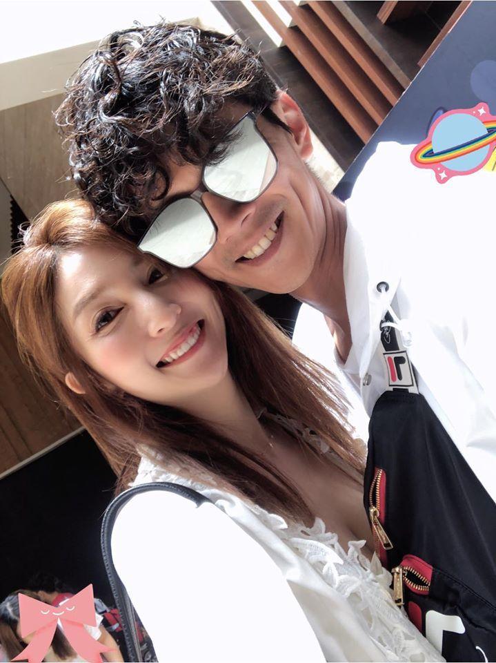 阿翔和老婆被拍到上摩鐵。圖/Grace臉書