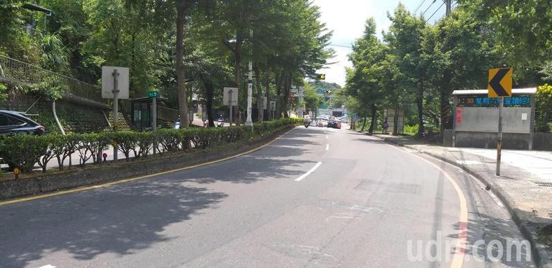 公路總局預計6日起在夜間施工,重新刨鋪基金一路,讓路面更平整。記者邱瑞杰/攝影