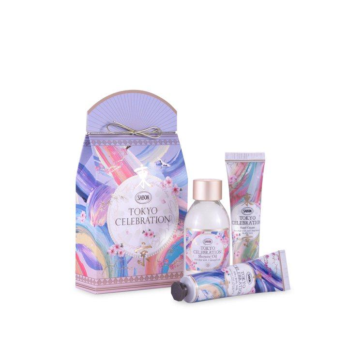 SABON晶透夢境限定香氛保養禮盒 /1,080元。圖/SABON提供
