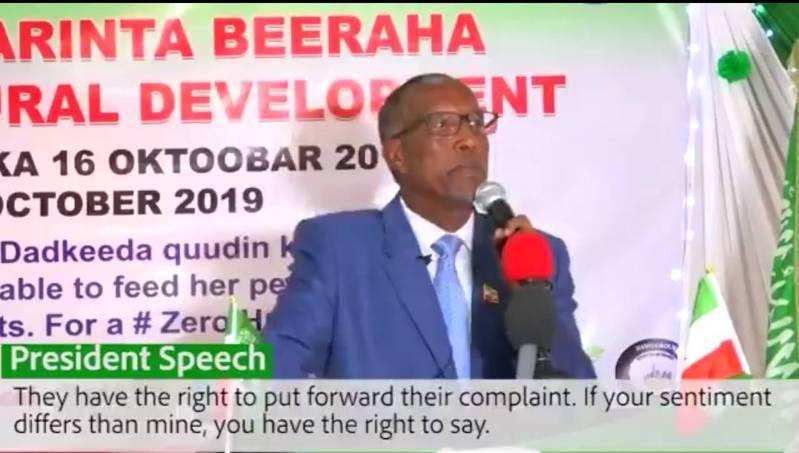 索馬利蘭總統比希。圖/取自比希推特
