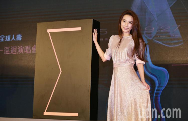 歌手田馥甄宣布,將開始第五張專輯及第二個巡迴演唱會的計畫。記者曾原信/攝影