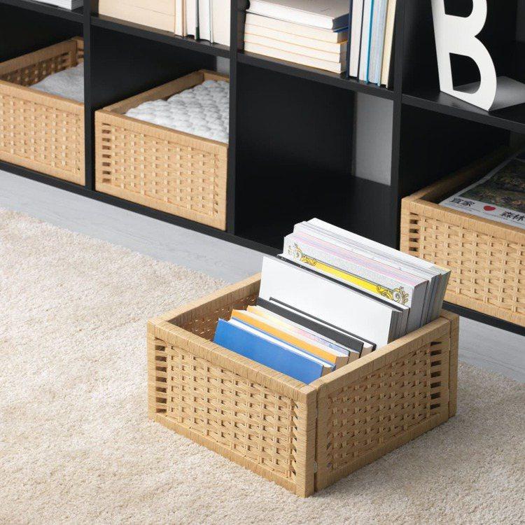 ELEGABEL收納盒原價399元,特價229元。圖/IKEA提供