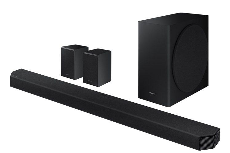 三星Soundbar Q950T藍牙無線揚聲器,支援Dolby Atmos及DT...