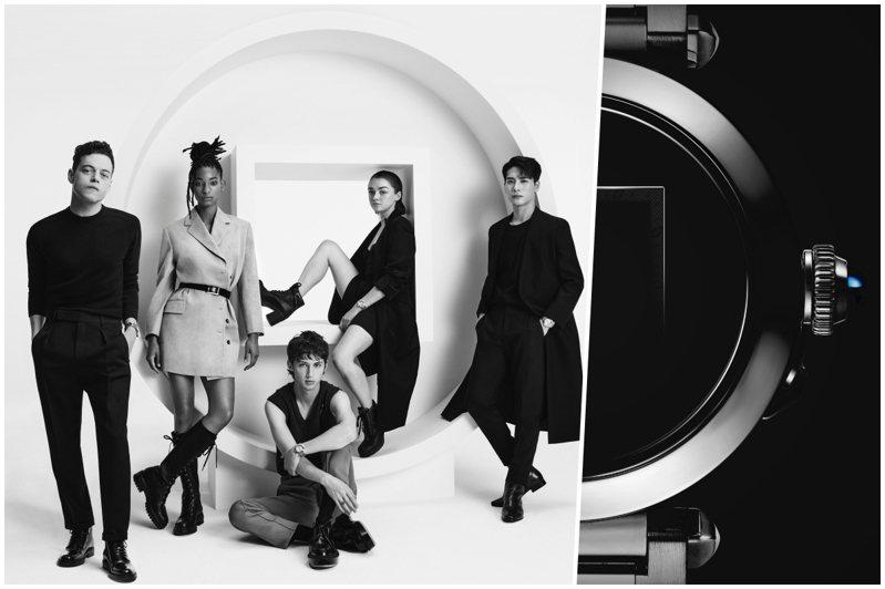 卡地亞邀請五位品牌摯友演繹全新Pasha腕表,包括奧斯卡影帝雷米馬利克、王嘉爾、Willow Smith、Maisie Williams、以及Troye Sivan。圖/卡地亞提供
