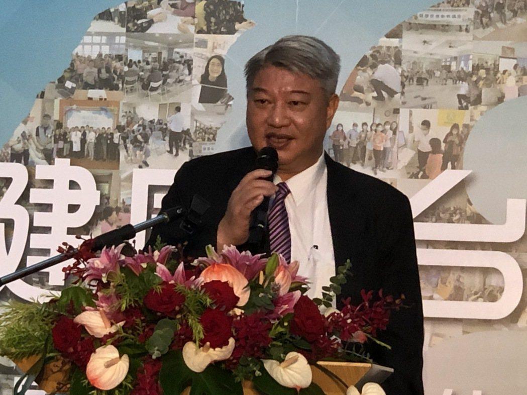 仁寶資深副總沈俊德。記者蕭君暉/攝影