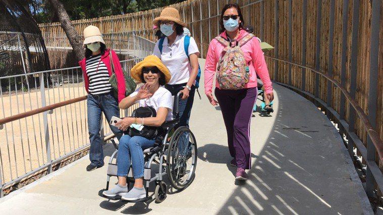 培訓課程中有無障礙旅遊戶外實地體驗。 圖/台灣旅遊交流協會提供