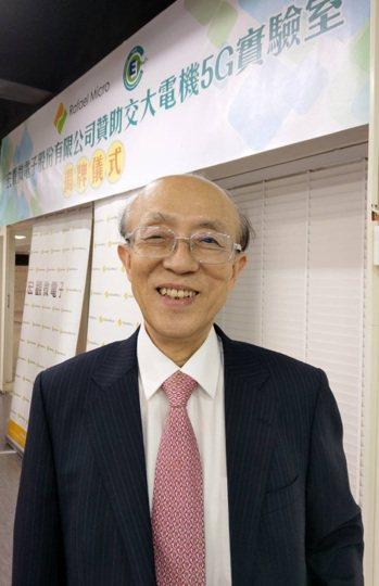 宏觀董事長林坤禧 記者鐘惠玲/攝影