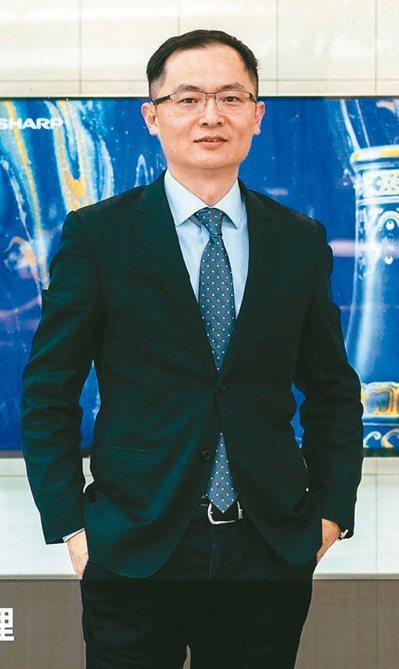 台灣夏普總經理張凱傑 (本報系資料庫)