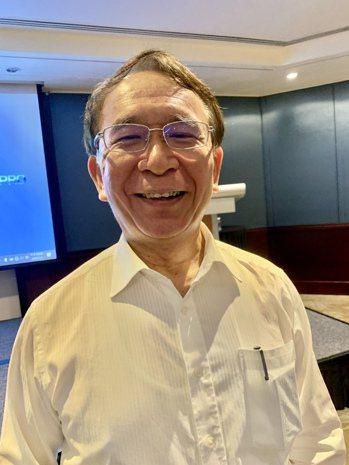 晟德董事長林榮錦。記者謝柏宏/攝影