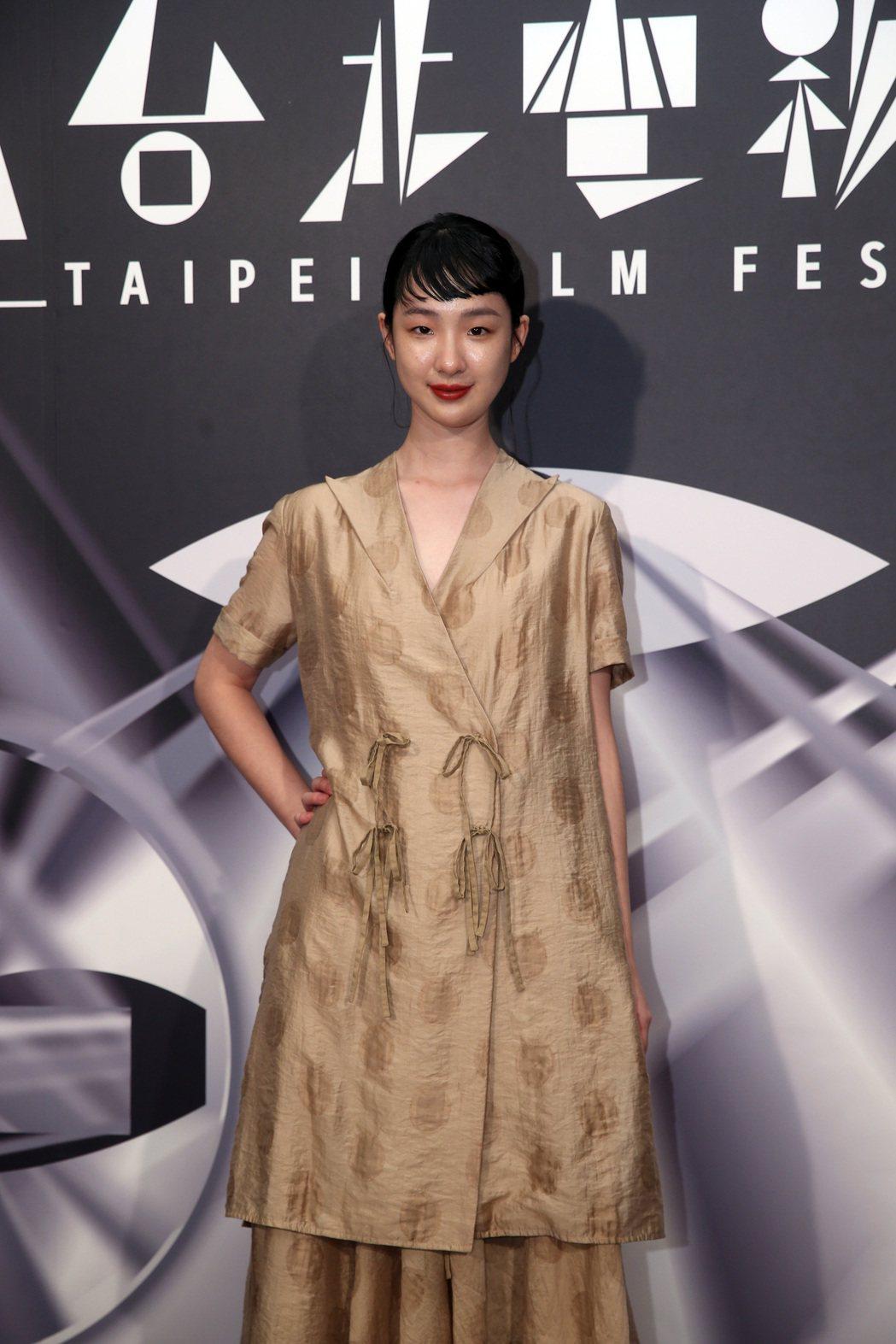 《哈囉少女》世界首映,演員劉主平出席。記者曾吉松/攝影